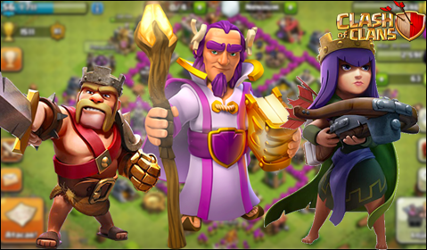rei barbaro clash of clans