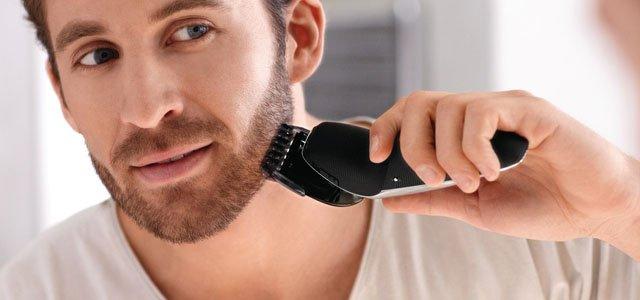 aparador de barba elétrico
