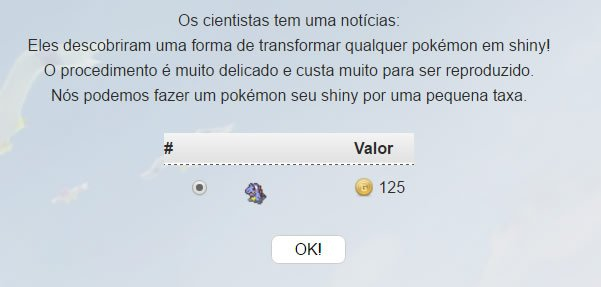 Como transformar em Shiny em Pokémon Age