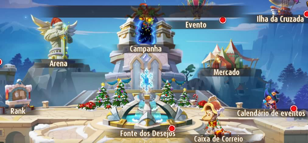 O mundo de Magic Rush