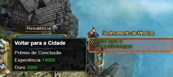 Primeira missão no Legend Online