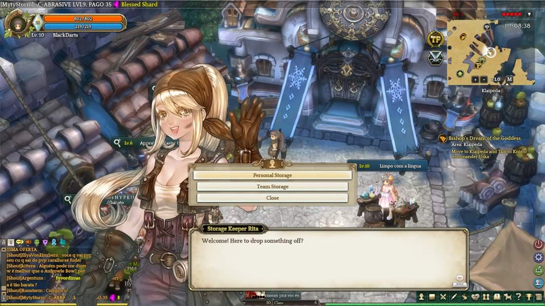 Personal Storage de Tree of Savior