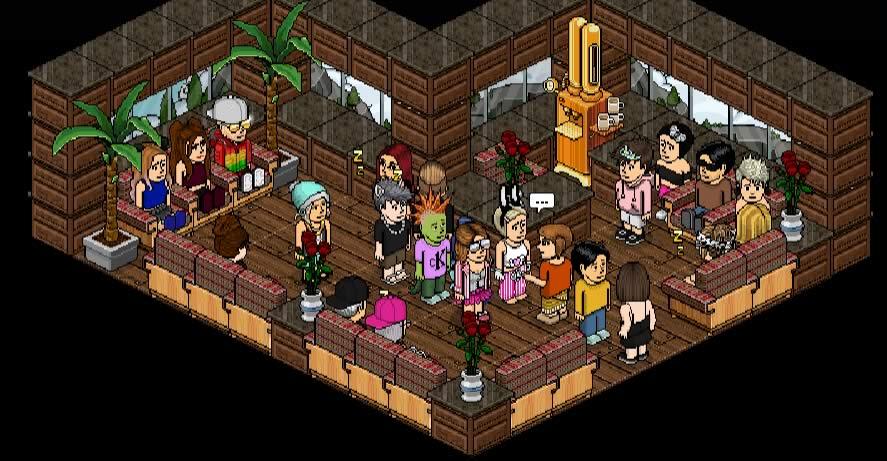 Um dos quartos de Habbinfo