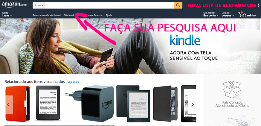 site amazon é confiável