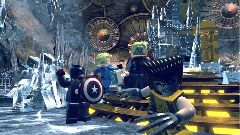 herois de LEGO Marvel Heroes