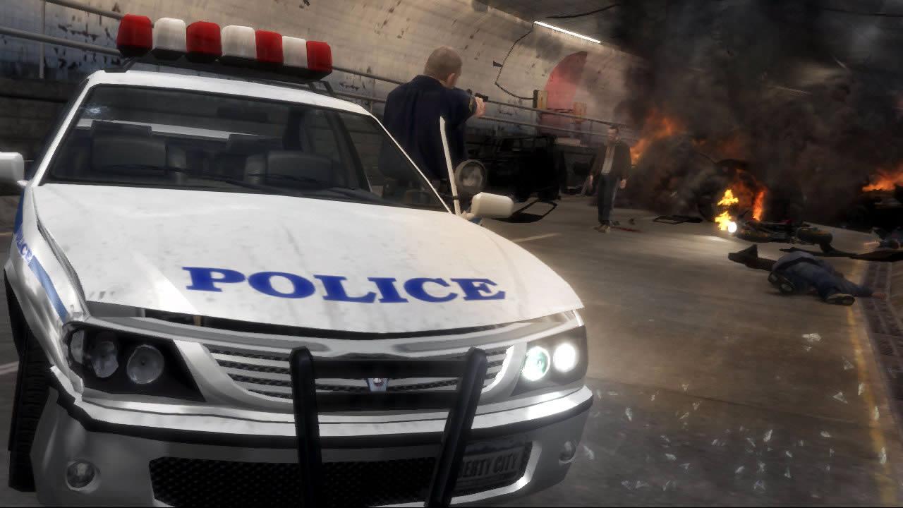 tirar estrela da polícia gta 4