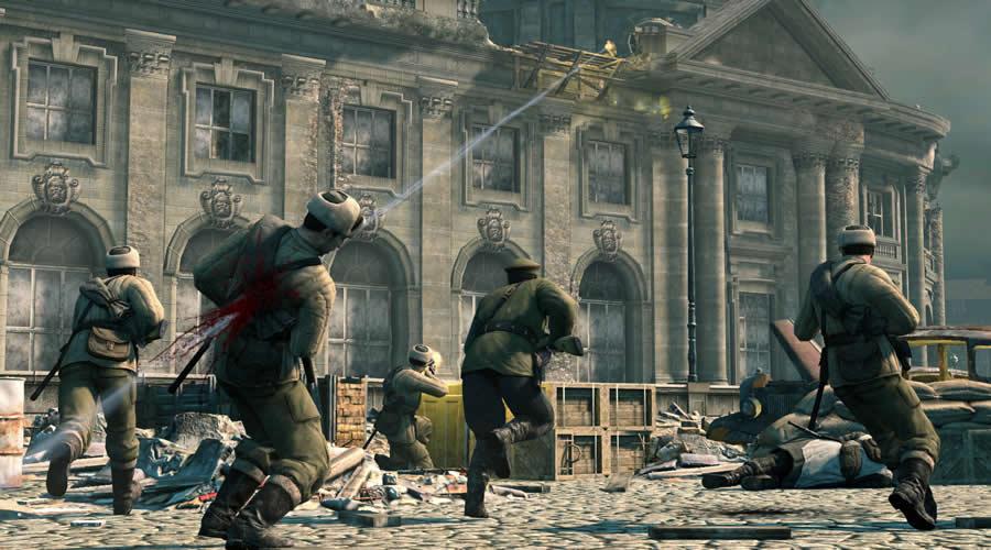 Jogo de guerra para pc fraco Sniper Elite V2