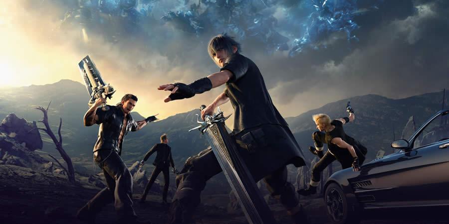melhores jogos rpg Final Fantasy XV