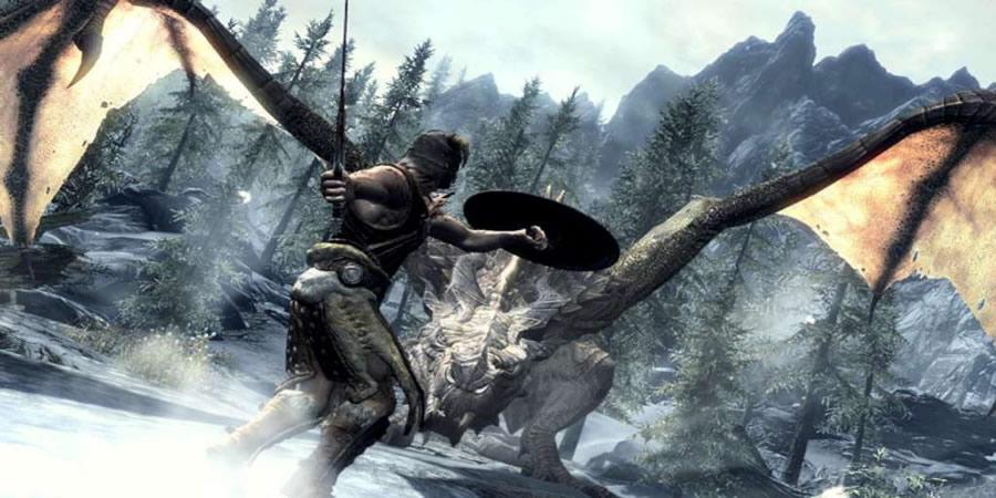 melhores jogos rpg The Elder Scrolls V Skyrim