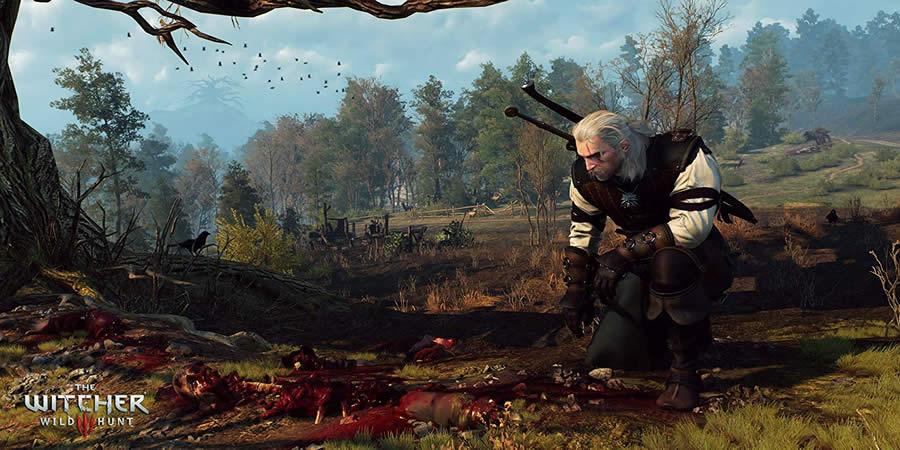 melhores jogos rpg The Witcher 3
