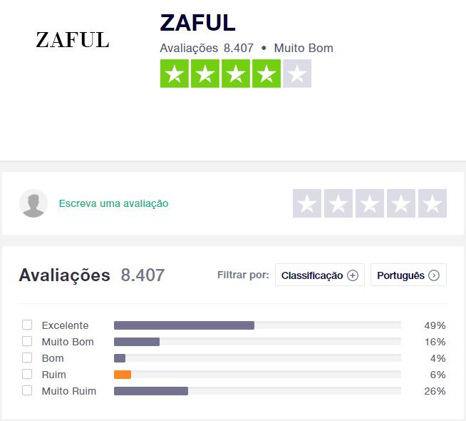 zaful reclamações