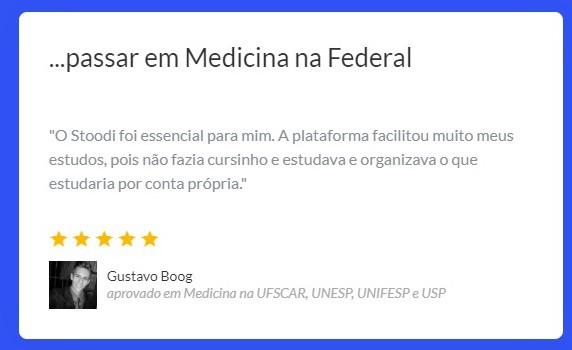 Passe em medicina na federal