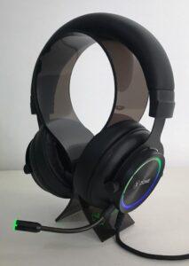 headset no suporte