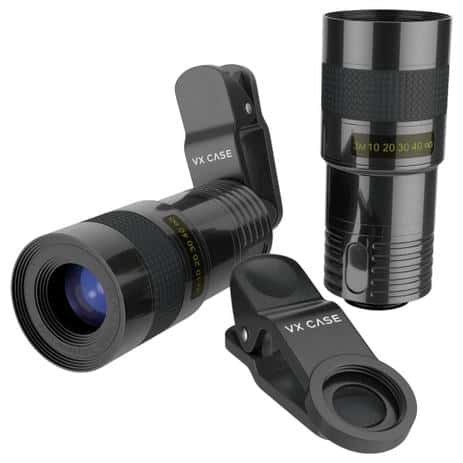 kit de lentes para smartphone- produção de conteúdo para web