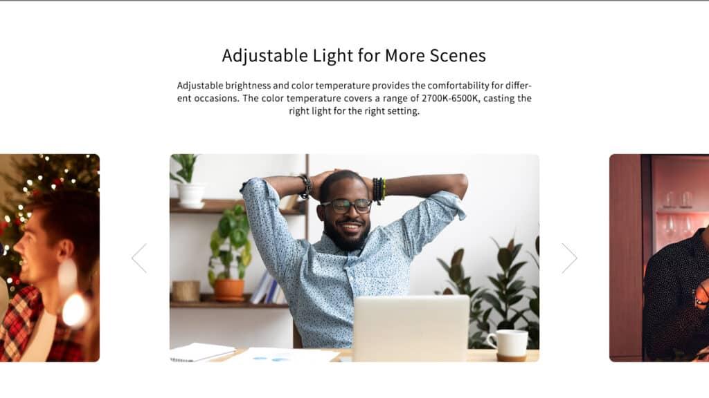 Luz ajustável Yeelight Arwen Smart LED