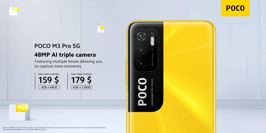 Câmeras POCO M3 Pro
