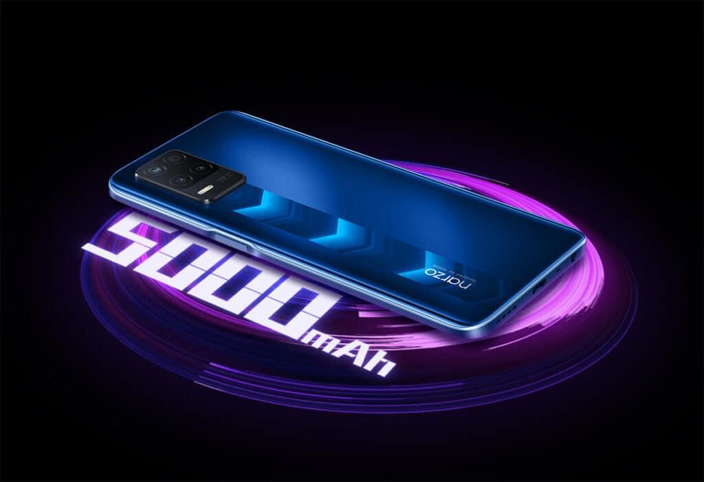 Bateria e carregamento Realme Narzo 30 5G