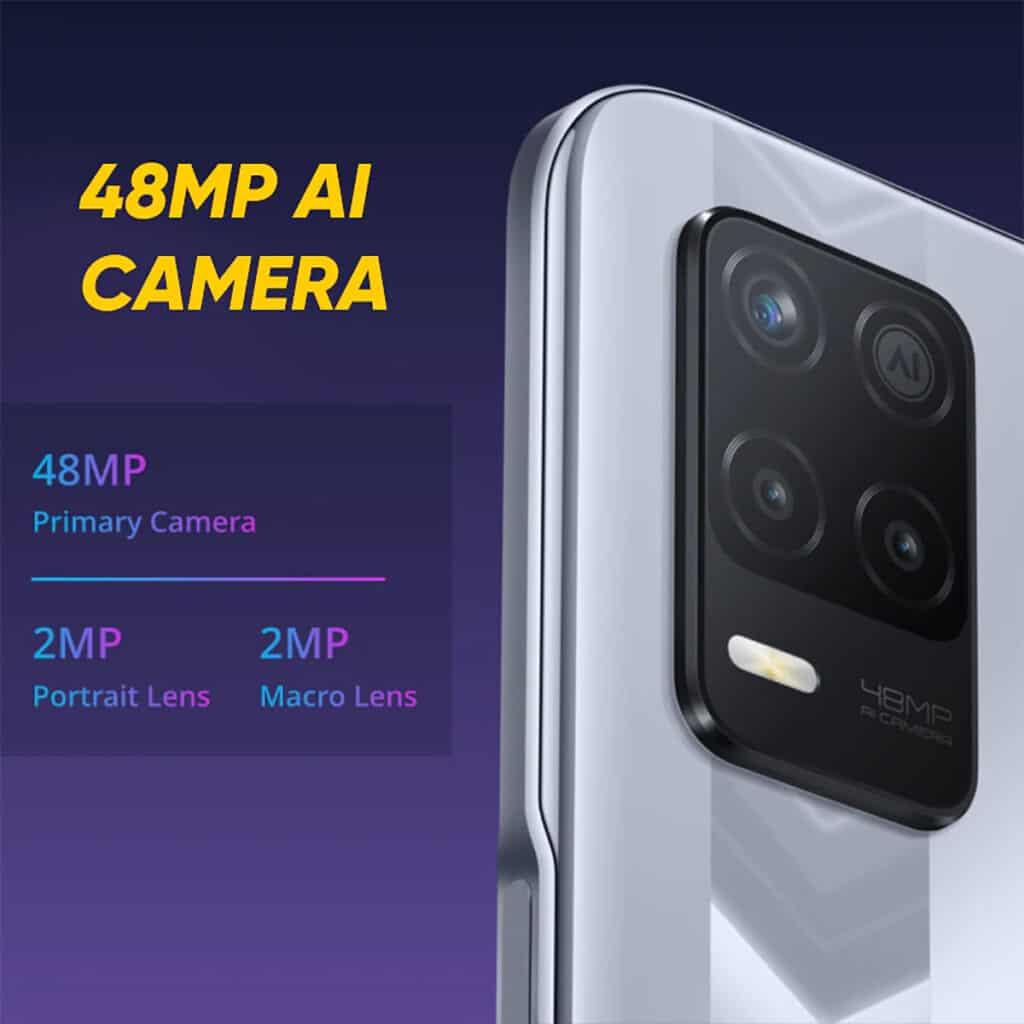 Câmeras Realme Narzo 30 5G