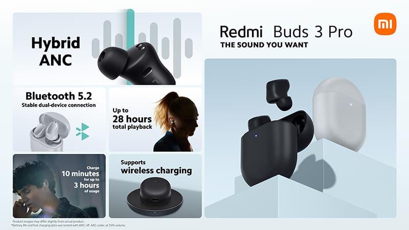Por que escolher o Xiaomi Redmi Buds 3 Pro?
