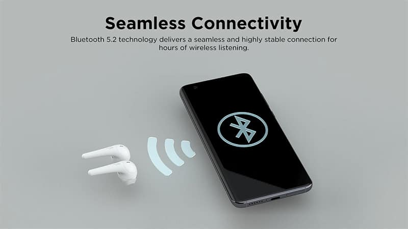 Bluetooth 5.2 1MORE ComfoBuds 2