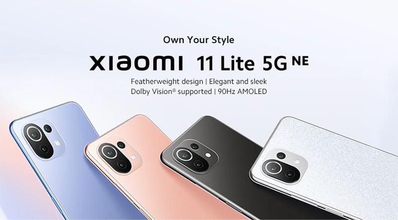 Design Xiaomi 11 Lite NE