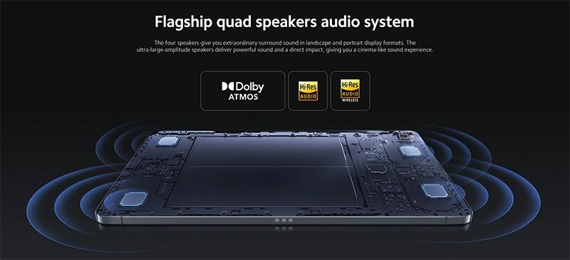alto-falantes Xiaomi Pad 5